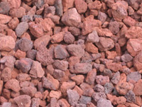 Red Lava Rock Decorative Stone
